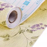 yazi Self Adhesive Drawer Liner Moisture Proof Shelf Contact Paper,17x78 Inches,Vogue Peony