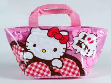 yazi Cute Hello Kitty Lunch Bag Handbag Tote 006285
