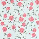 yazi PVC Self-Adhesive Shelf Liner Drawer Contact Paper,17x78 Inches, Pink Peony