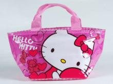 yazi Cute Hello Kitty Lunch Bag Handbag Tote 006286