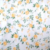 yazi Self-Adhesive PVC Shelf Liner Drawer Contact Paper,17x78 Inches, Yellow Peony